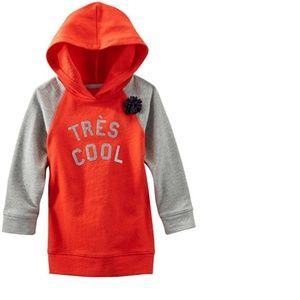 Oshkosh B'gosh hooded tunic (NWT)